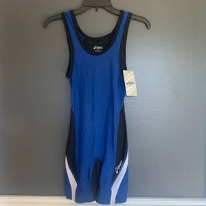 ASICS Mens Size Small Wrestling Singlet NWT